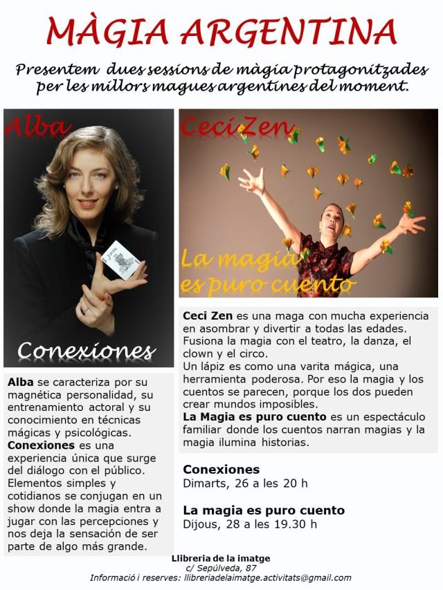 CARTELL MÀGIA ARGENTINA