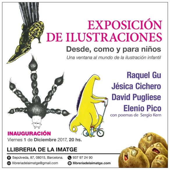 XARXES_Exposición-Ilustraciones