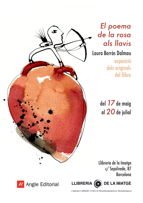 Cartell expo El poema de la rosa