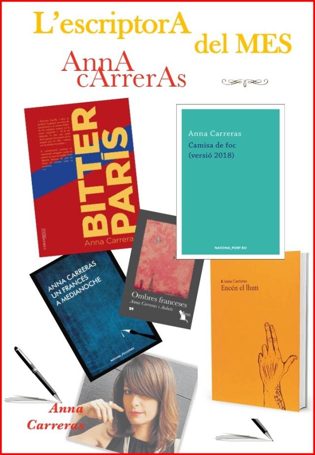 Cartell Anna Carreras