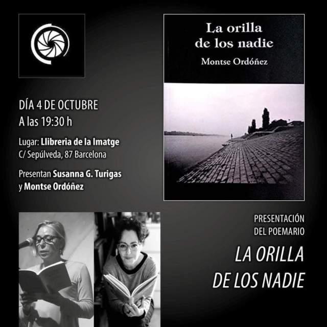 CARTELL MONTSE ORDOÑEZ