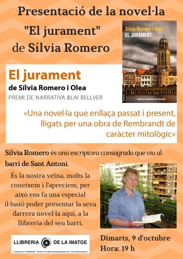 CARTELL _EL JURAMENT_ SÍLVIA ROMERO