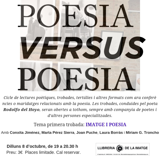 cartell POESIA VS POESIA