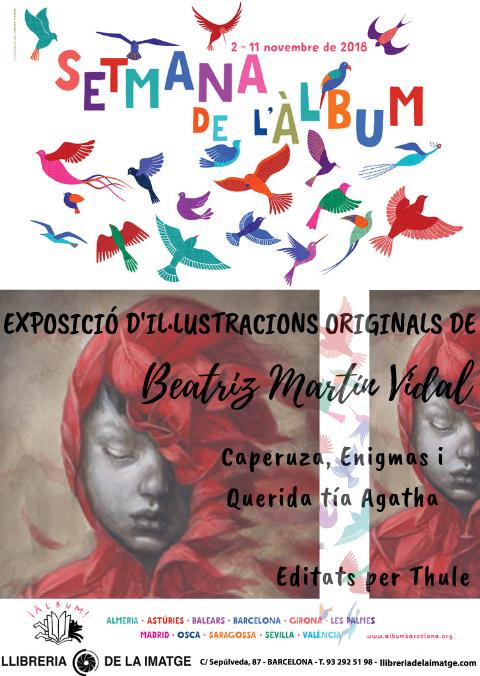 CARTELL EXPO SETMANA ÀLBUM BEATRIZ MARTÍN VIDAL