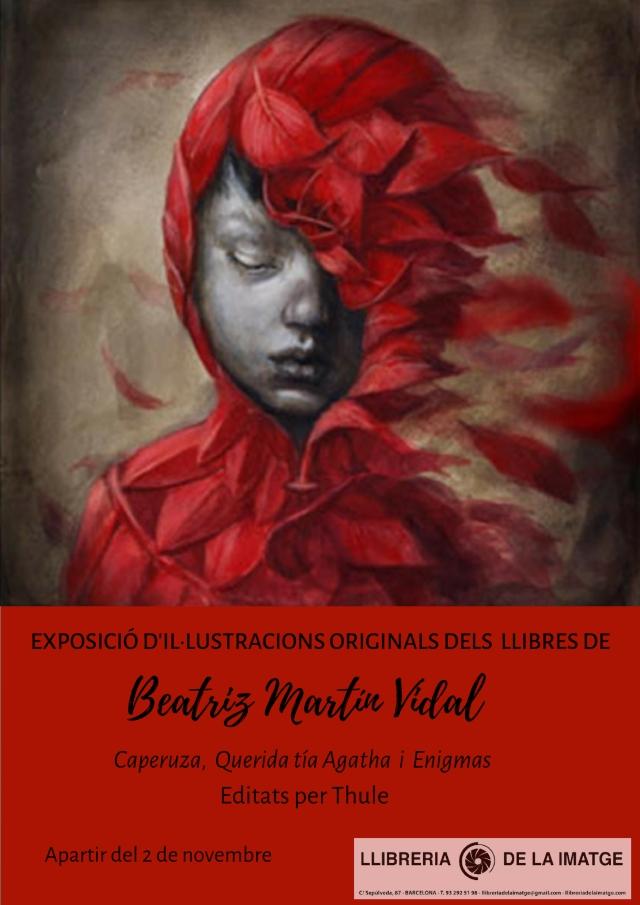 CARTELL EXPOSICIÓ BEATRIZ