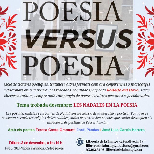POESIA VS POESIA DESEMBRE