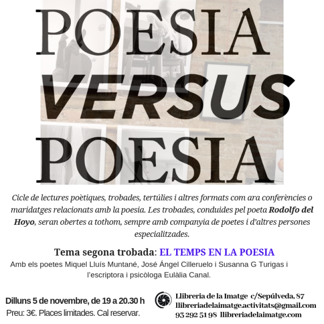POESIA VS POESIA novembre
