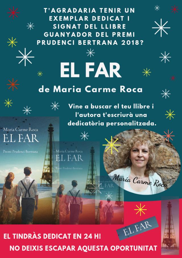 EL FAR MARIAN CARME ROCA_CARTELL DEDICATÒRIA