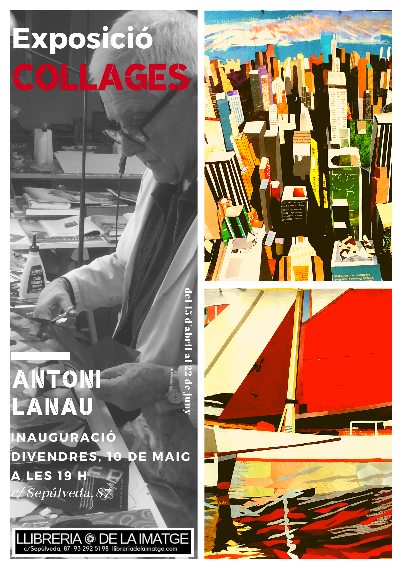 CARTELL COLLAGES LANAU