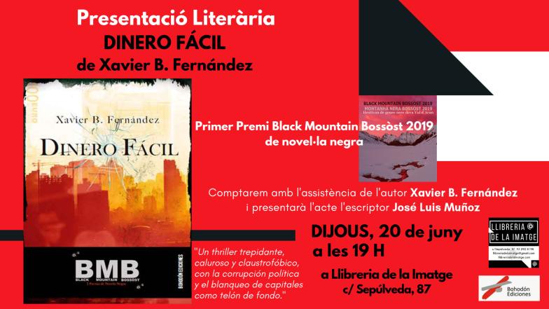 FLYER PRESENTACIÓ DINERO FÁCIL