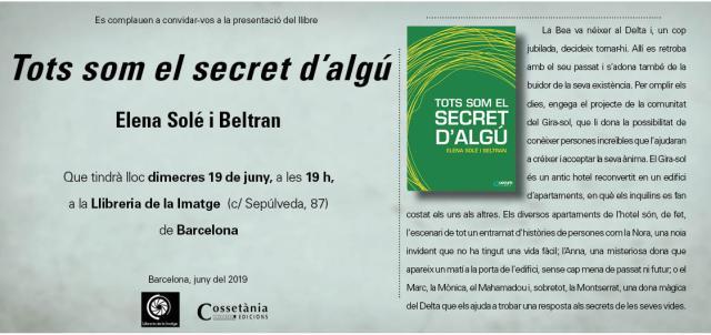 Invitació Tots som el secret d'algú
