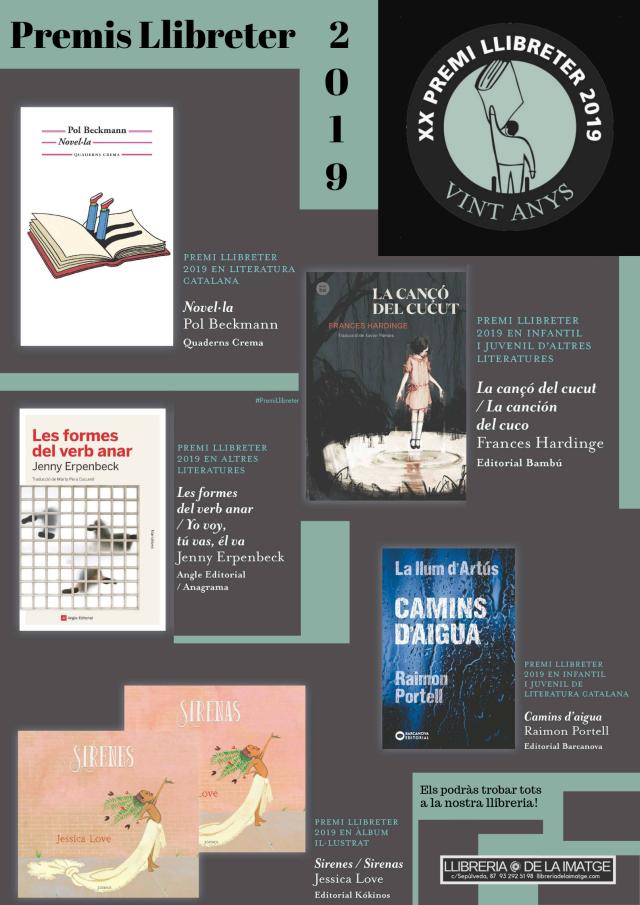 Premis Llibreter 2019