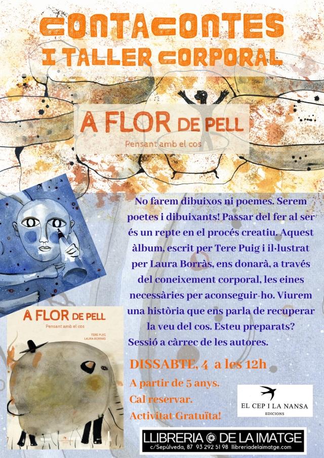CARTELL A FLOR DE PELL