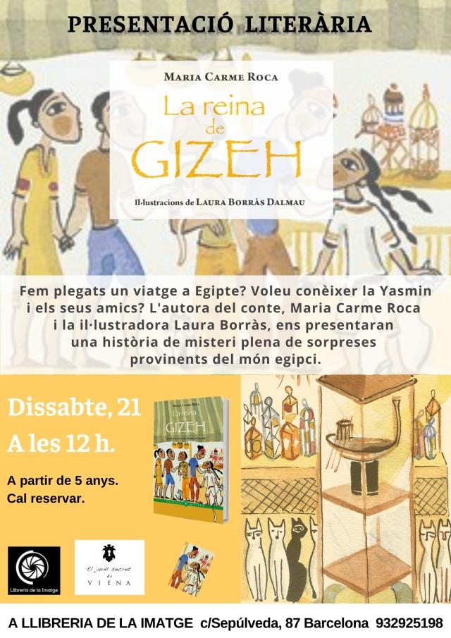 CARTELL LA REINA DE GIZEH