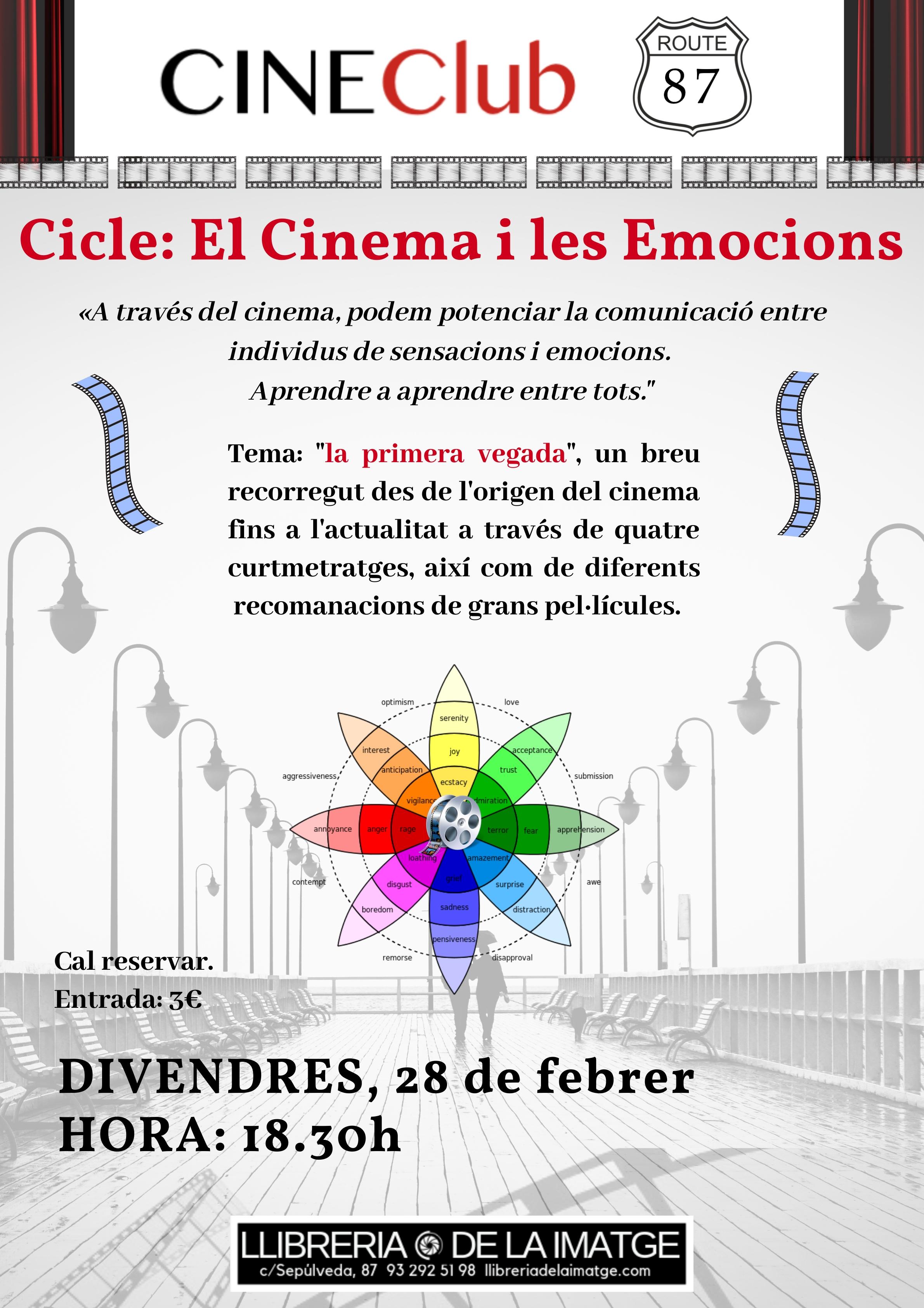CARTELL CINE CLUB EMOCIONS FEBRER